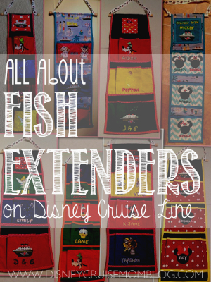 All about the Fish Extender gift exchange on Disney Cruise Line.