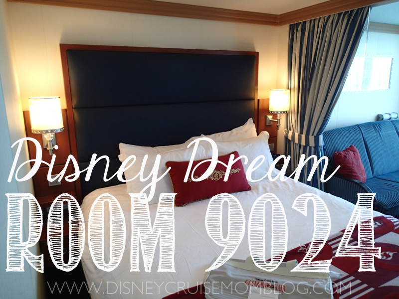 Details and photographs of Disney Dream stateroom 9024.