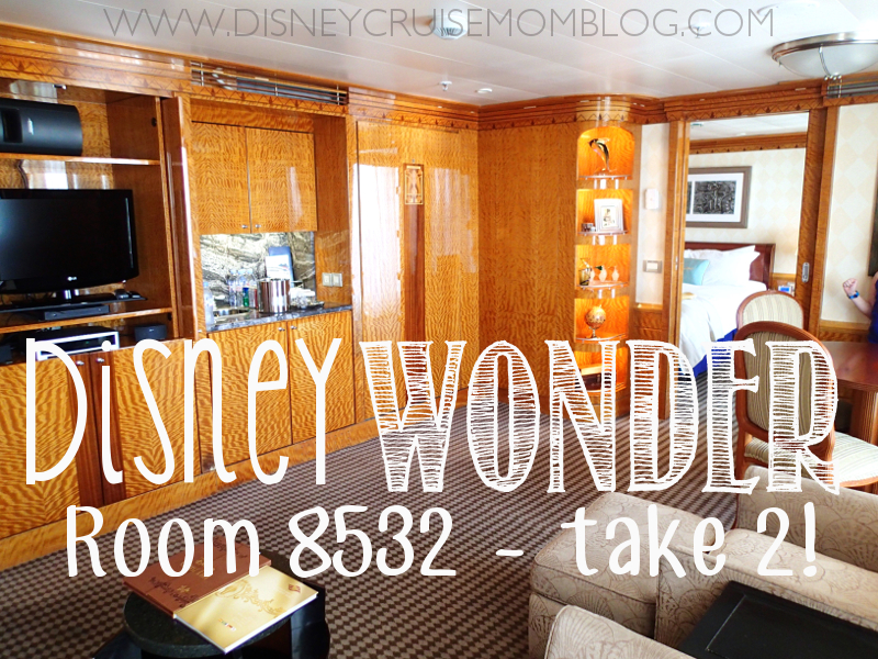 Disney Wonder Room 8532 - Take 2! • Disney Cruise Mom Blog