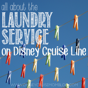 Laundry Service on Disney Cruise Line