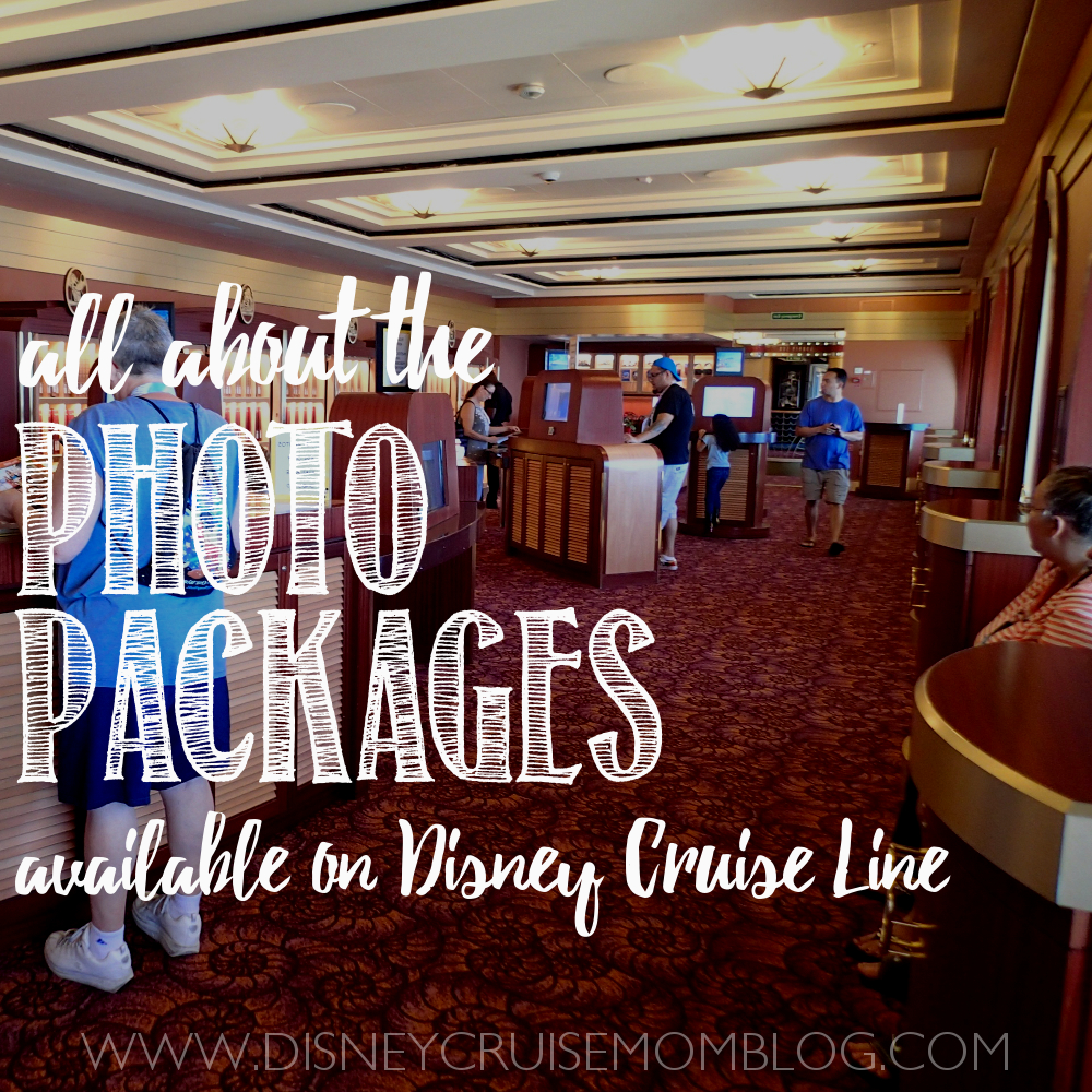 All About The Photo Packages On Disney Cruise Line