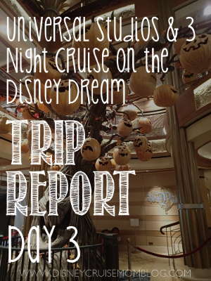 Trip Report Day  Boarding The Disney Dream  Disney Cruise Mom Blog