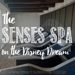 Senses Spa on the Disney Dream