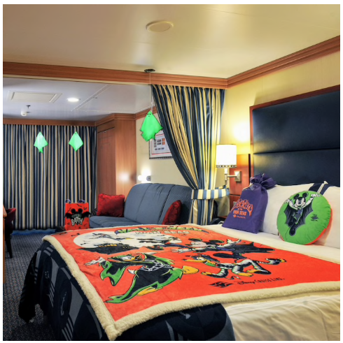 Disney Cruise Line Halloween Blanket.Disney Cruise Line Onboard Gifts And Amenities Disney Cruise Mom Blog