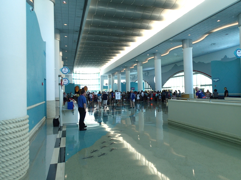 Disney cruise terminal Port Canaveral