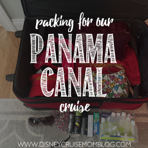 Packing for the Panama Canal