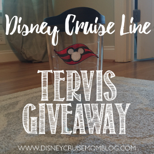 Disney Cruise Line Tervis Giveaway