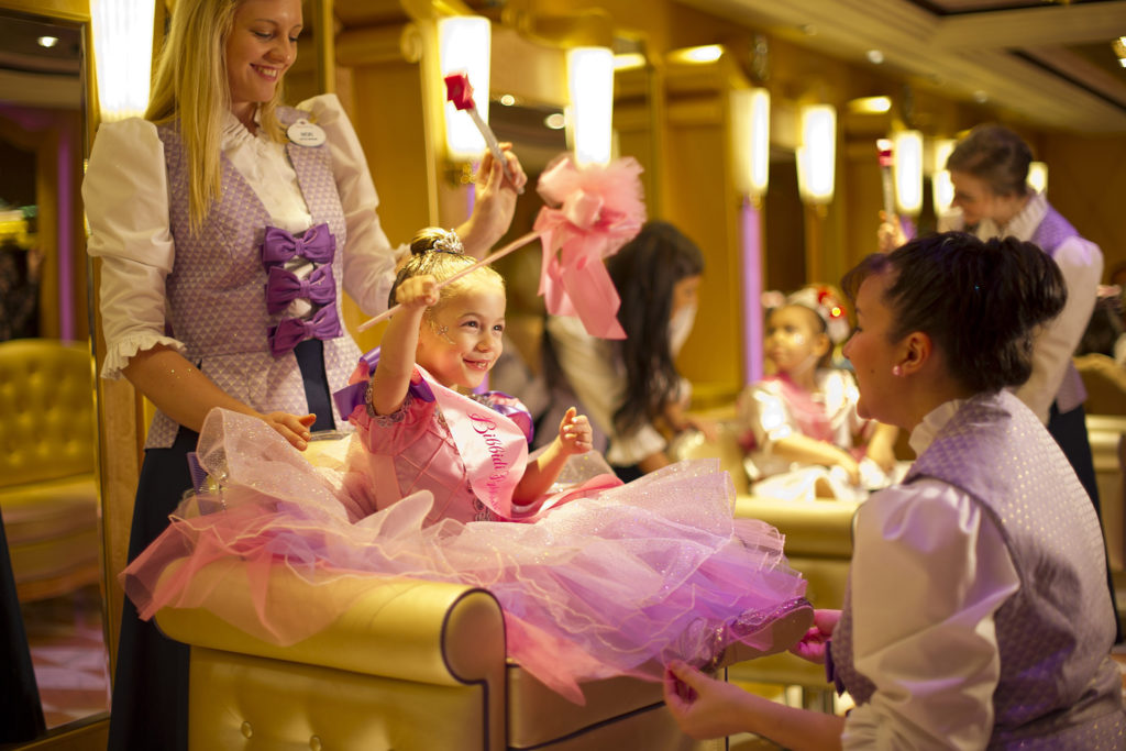 Bibbidi Bobbidi Boutique on Disney Cruise Line