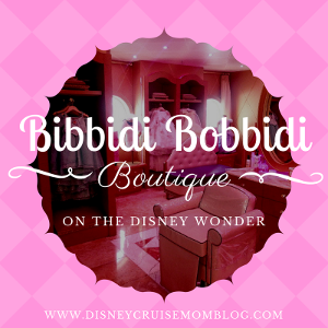 Bibbidi Bobbidi Boutique on the Disney Wonder