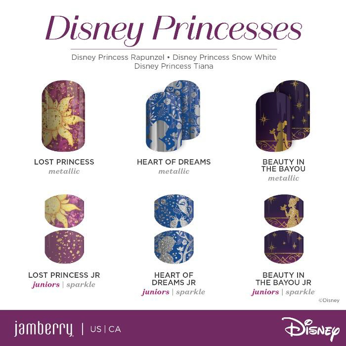 Disney Jamberry Nails