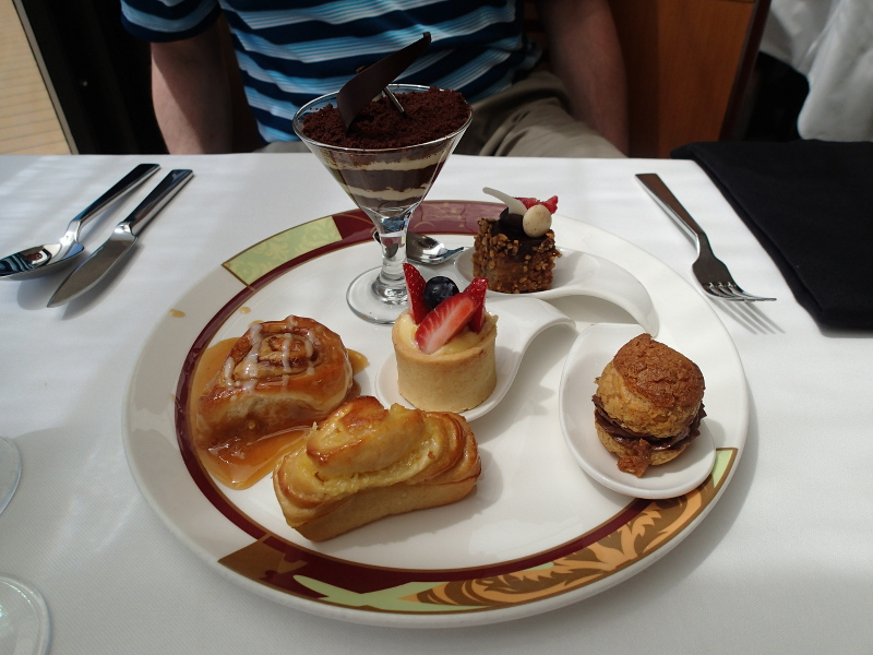 Disney cruise Palo brunch