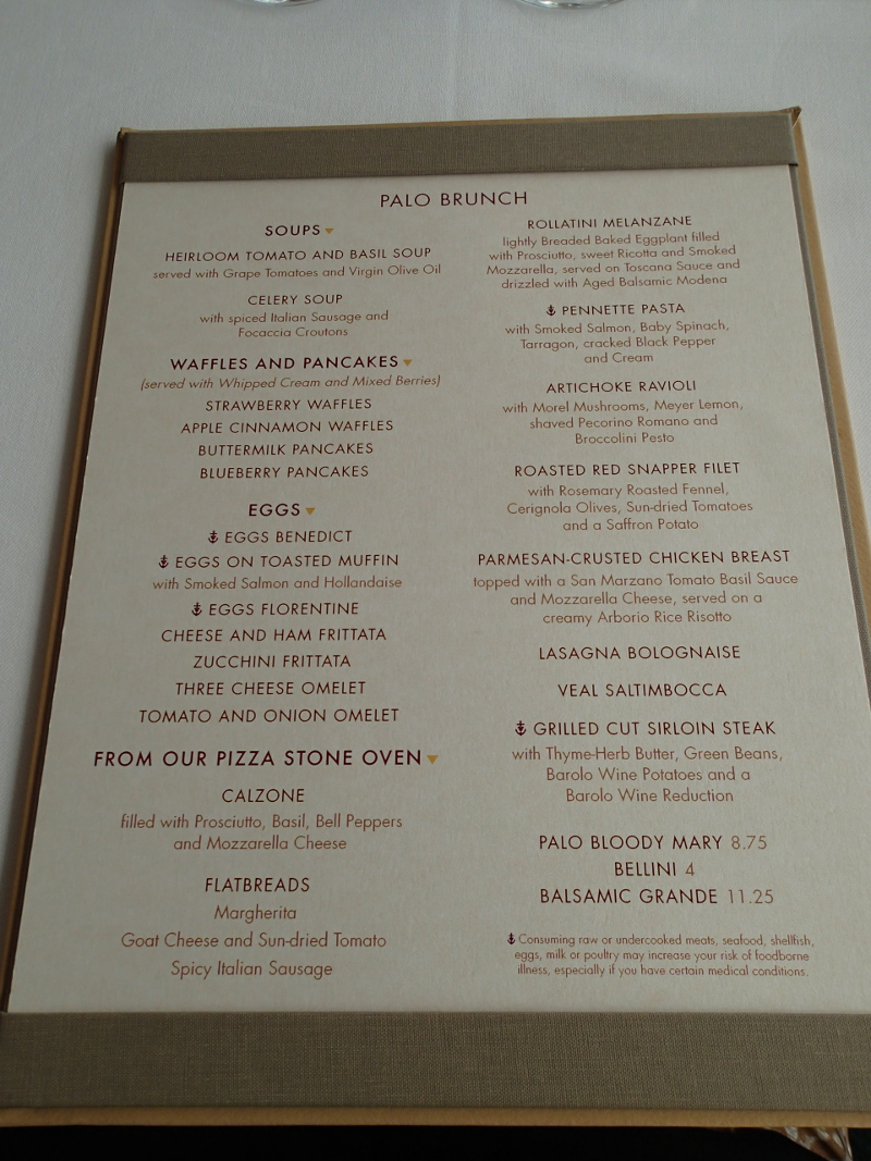 The Waiting Room Brunch Menu