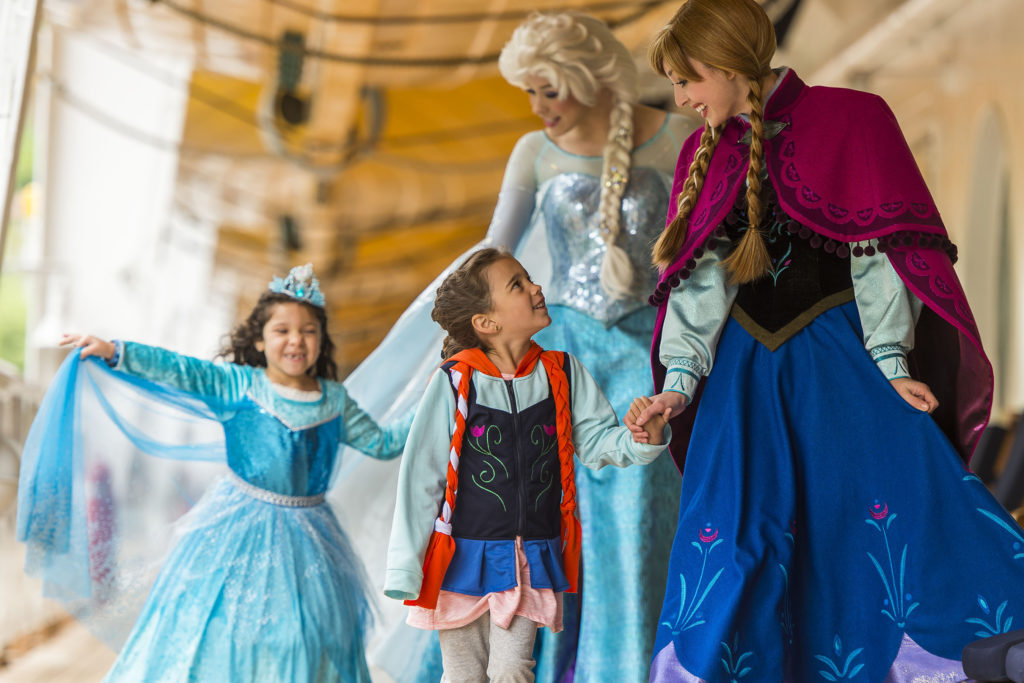 Frozen Meet Disney Cruise Line