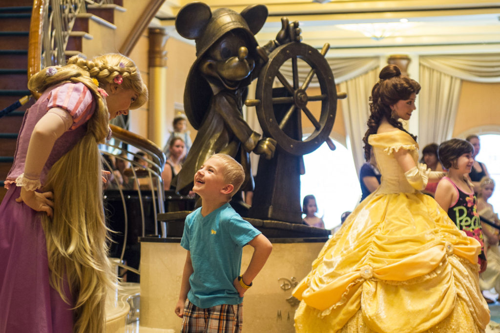 Princess Gathering on Disney Cruise Line