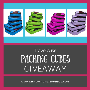 A TravelWise Packing Cubes Giveaway!