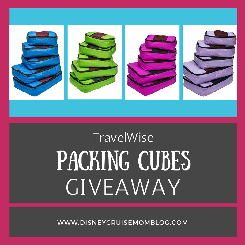 Packing Cubes Giveaway