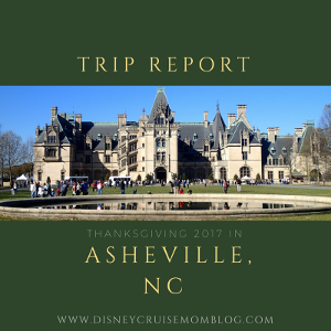 Thanksgiving in Asheville, NC – The Biltmore Estate