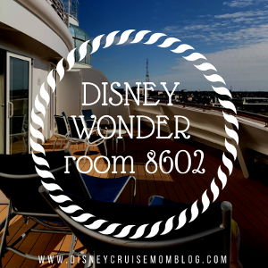 Disney Wonder Room 8602 – Take 2!