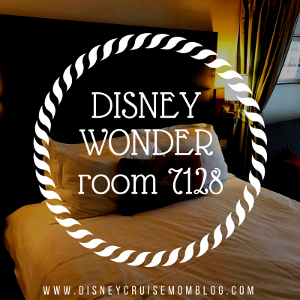 Disney Wonder Room 7128